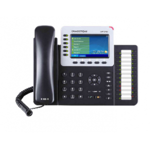 Grandstream Networks GXP-2160 IP phone Black Wired handset TFT 6 lines
