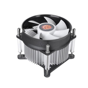 Thermaltake Gravity i2 Processor Cooler 9.2 cm Aluminium, Black, White