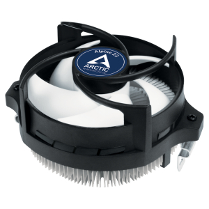 ARCTIC Alpine 23 - Compact AMD CPU-Cooler Processor Cooling set 9 cm Aluminium, Black 1 pc(s)