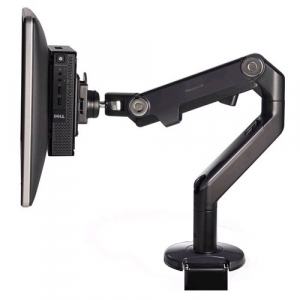 DELL 482-BBBQ flat panel desk mount Black