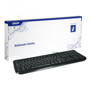 Innovation IT KEY-613M tastatūra USB QWERTZ Vācu Melns