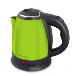 Esperanza EKK028G Electric kettle 1 L Black/ Green EKK028G