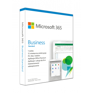 Microsoft 365 Business Standard Full 1 license(s) 1 year(s) Polish