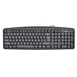 Titanum TK107 USB multimedia keyboard Black TK107
