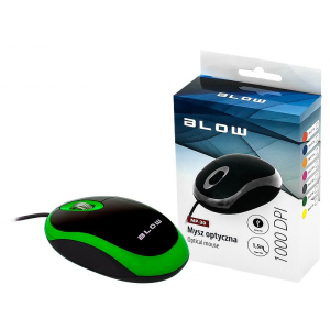 Optical mouse BLOW MP-20 USB green