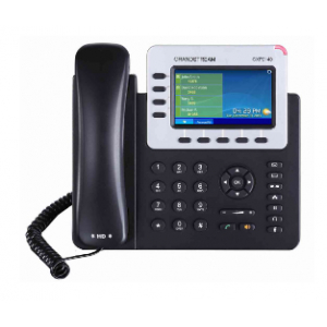 Grandstream Networks GXP-2140 IP phone Black Wired handset TFT 4 lines